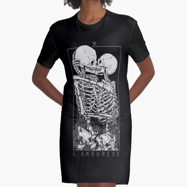 The Lovers Graphic T-Shirt Dress