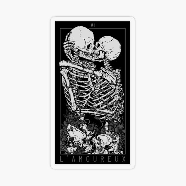 The Lovers Transparent Sticker