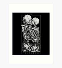 Die Liebhaber Kunstdruck