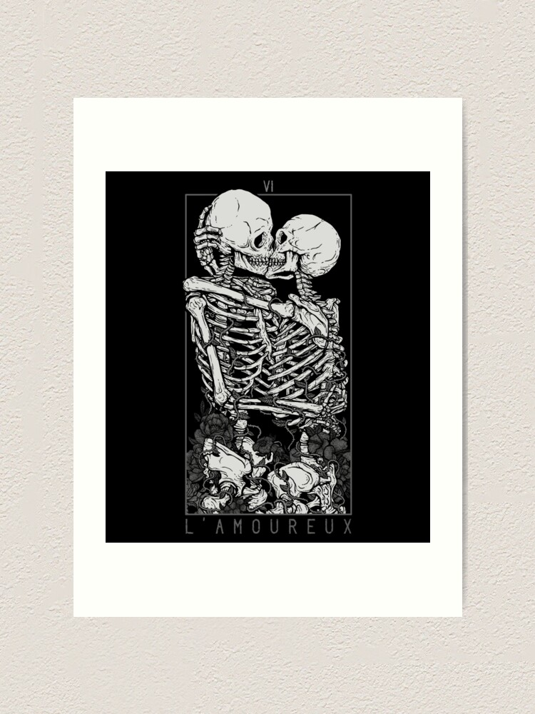 Alternate view of The Lovers Art Print