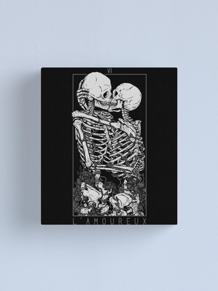 Alternate view of The Lovers Canvas Print