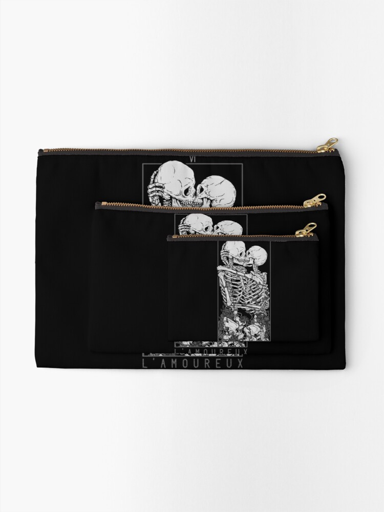 Alternate view of The Lovers Zipper Pouch