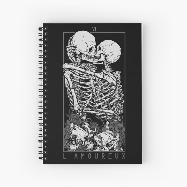The Lovers Spiral Notebook