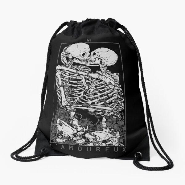 Sigil of Baphomet Cinch Bag Drawstring Backpack Occult Inverted Pentagram Satan