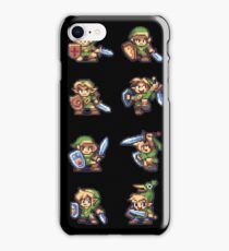 Zelda Link 8-Bit iPhone Case/Skin
