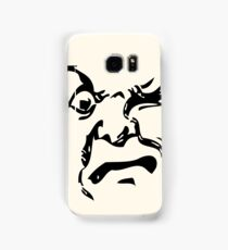 THE MAN ON THE MOON IS AN ANGRY MOFO Samsung Galaxy Case/Skin
