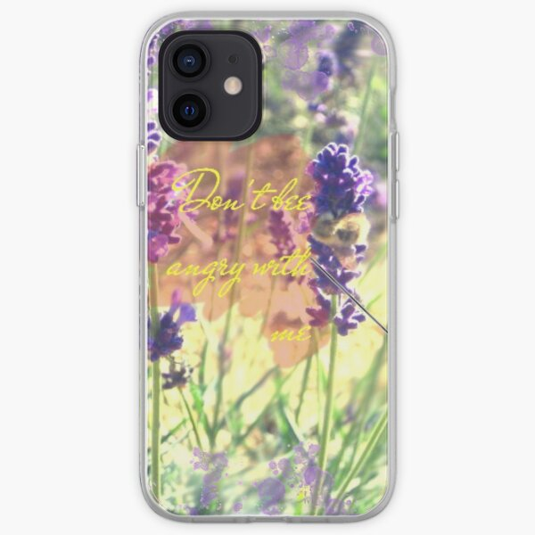 lavender and bee, forgiveness iPhone Soft Case