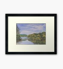 Nova Scotia Reflections 2 Framed Print
