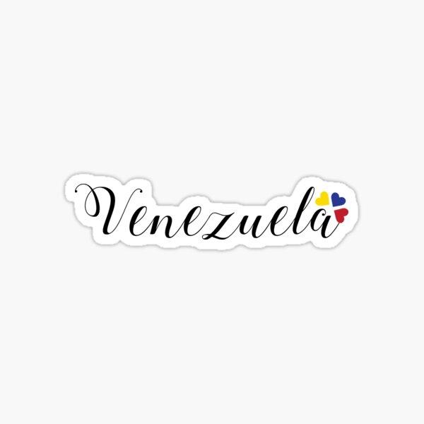 Venezuela Schriftzug Design Sticker