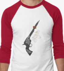 The Gunslinger Followed Men's Baseball ¾ T-Shirt