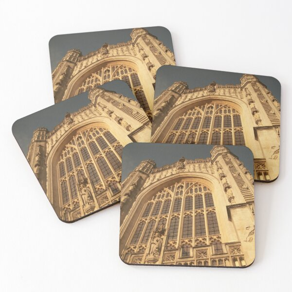 Bath Abbey, Bath, UK Coasters (Set of 4)