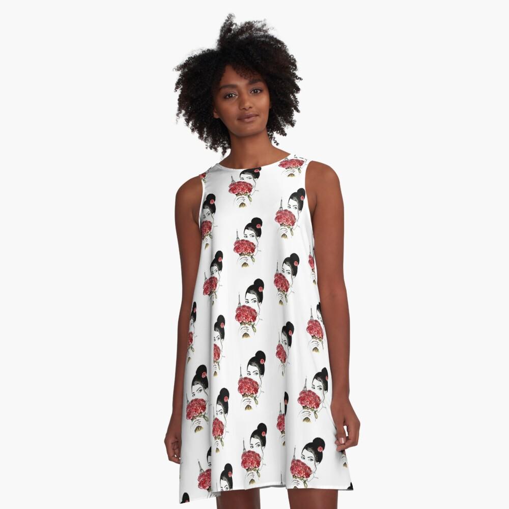 Love Paris  A-Line Dress