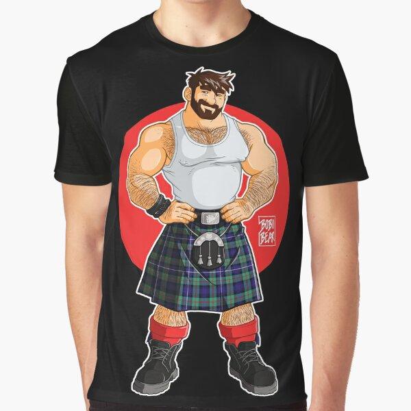 ADAM LIKES KILTS Graphic T-Shirt