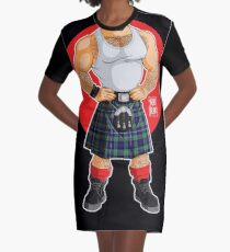 ADAM LIKES KILTS Graphic T-Shirt Dress