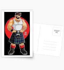 ADAM LIKES KILTS Postcards