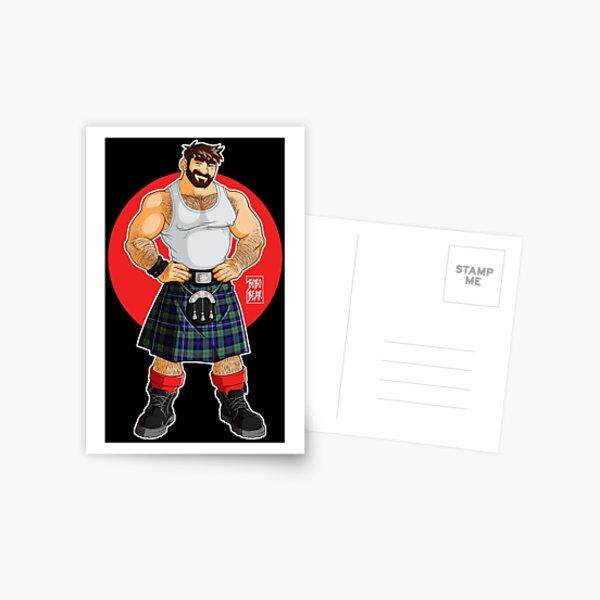ADAM LIKES KILTS Postcard