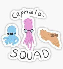 Cephalo-SQUAD Sticker