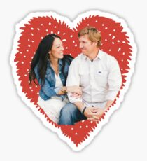 Chip and Joanna Gaines Sticker