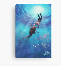 Sea of Lovers Canvas Print