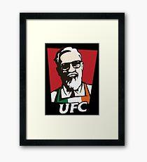 UFC MCGREGOR Framed Print