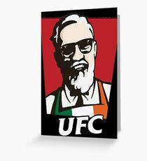 UFC MCGREGOR Greeting Card