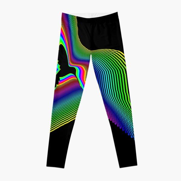 Hummingbird Rainbow Leggings