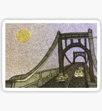 Bridge- color Sticker