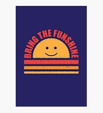 Funshine Photographic Print