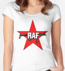 Red Army Faction sticker Women's Fitted Scoop T-Shirt