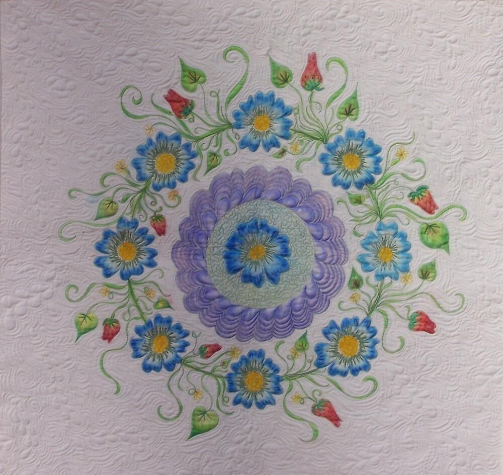 Floral Surprise by Amanda Bibb