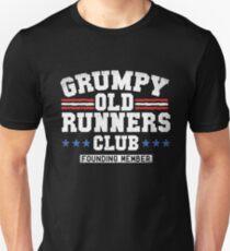 Grumpy runners club Unisex T-Shirt