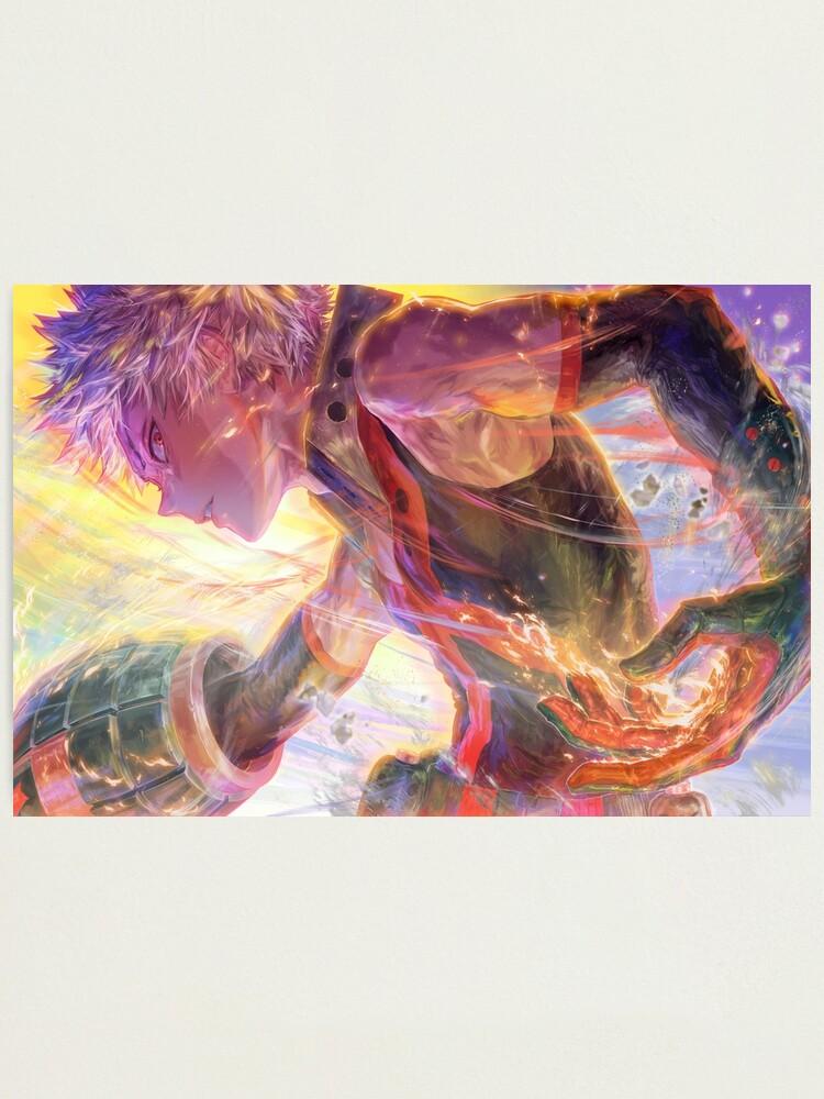 Alternate view of Katsuki Bakugō [爆豪勝己] Photographic Print