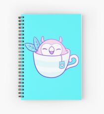 Owl Tea Spiral Notebook