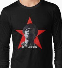 Black Panther sticker tshirt huey newton Long Sleeve T-Shirt