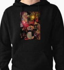 Christmas Decorations on Tree Pullover Hoodie