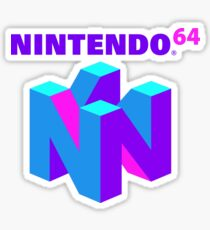 Nintendo 64 (Aesthetic) Sticker