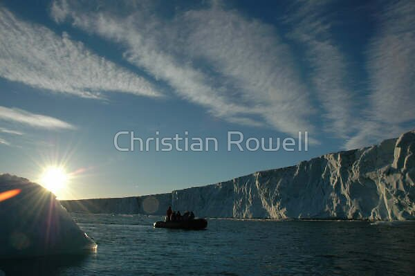 arctic sun by Christian Rowell