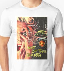 Not of this world, science fiction, horror movie poster Unisex T-Shirt