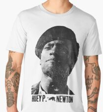 Black Panther panthers sticker tshirt huey newton  Men's Premium T-Shirt