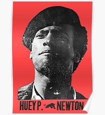 Black Panther panthers sticker tshirt huey newton  Poster