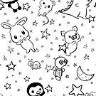 Dino & Panda Inc Pattern #1 by DinoPanda