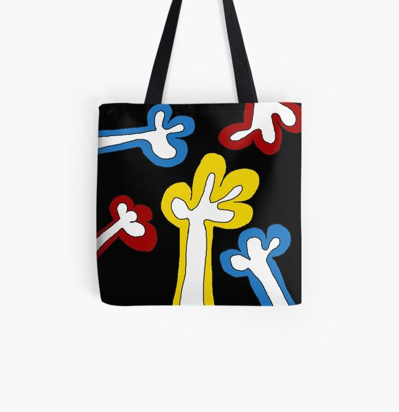 Colourful hands Allover-Print Tote Bag