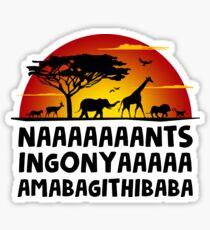The lion king nants ingonya Sticker
