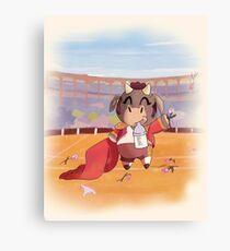 Animal Chibi  Canvas Print