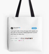Salad Spinner Tweet Tote Bag