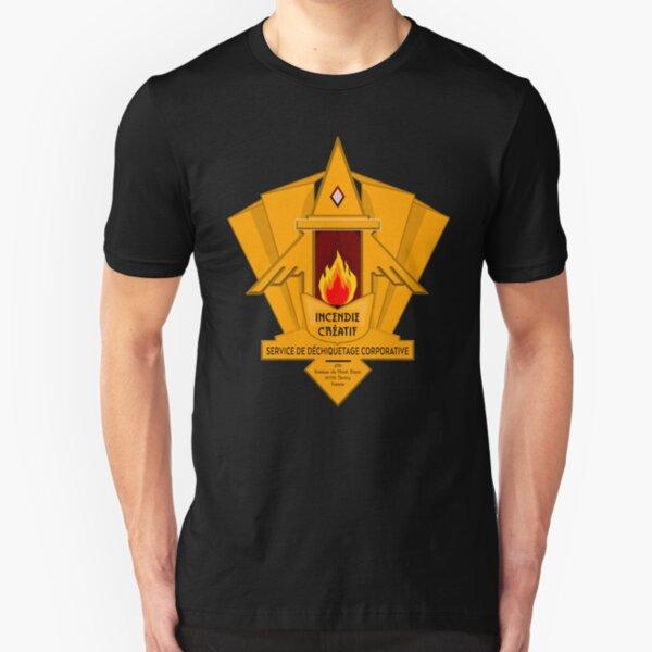 INCENDIE CRÉATIF Slim Fit T-Shirt