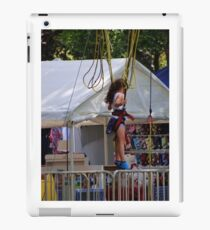 bungie jumper iPad Case/Skin