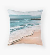 Beach Shore Throw Pillow