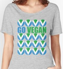 International Vegan Flag 2 Women's Relaxed Fit T-Shirt