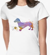 Dog Art - Dachshund T-Shirt